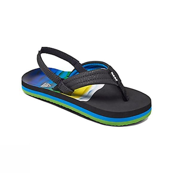 Reef Boys Ahi Sandal  Aqua/Blue