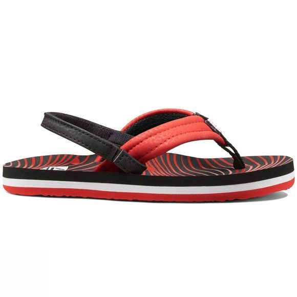 Reef Boys Ahi Sandal  Red Shark