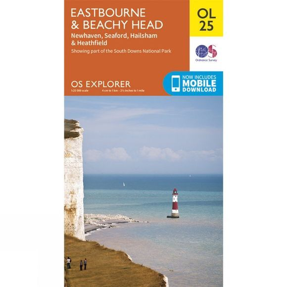 Explorer Map OL25 Eastbourne and Beachy Head
