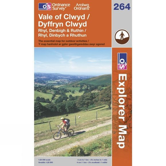 Explorer Map 264 Vale of Clwyd