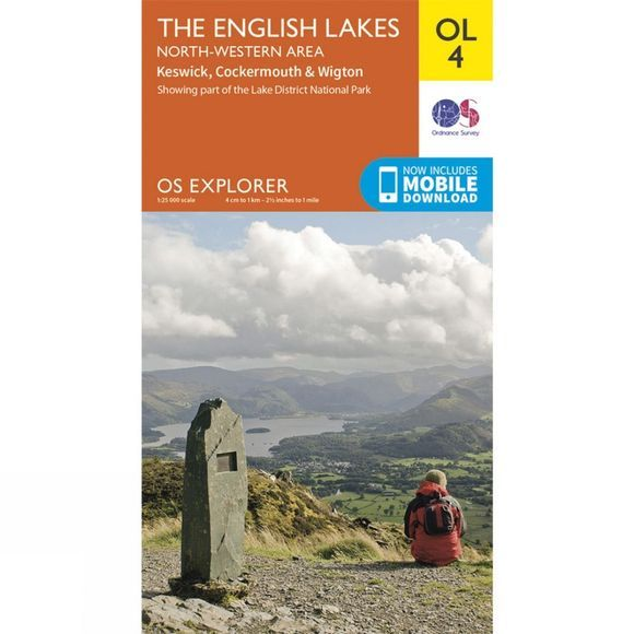 Explorer Map OL4 The Lake District - North-Western Area