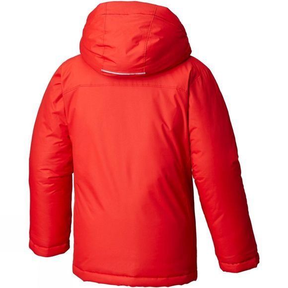 Columbia Boys Alpine Free Fall Jacket Red Spark,Dark Mountain