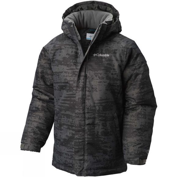 Columbia Boys Twist Tip Jacket Grill Grain Print