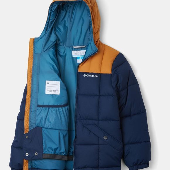 Columbia Boys Gyroslope Jacket Collegiate Navy/Canyon Gold