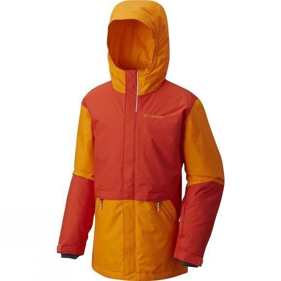Columbia Youths Slope Star Jacket State Orange / Solarize