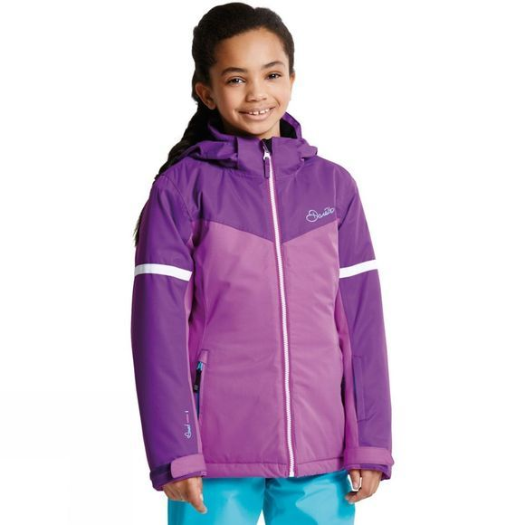 Dare 2 b Kids Obscure Jacket Ultraviolet Purple/Electric Purple