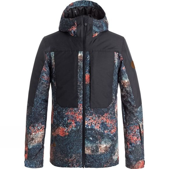 Quiksilver Boys TR Ambition Snow Jacket (14+) Marine Iguana Real