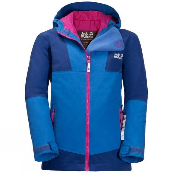 Jack Wolfskin Kids Snowsport Jacket Coastal Blue