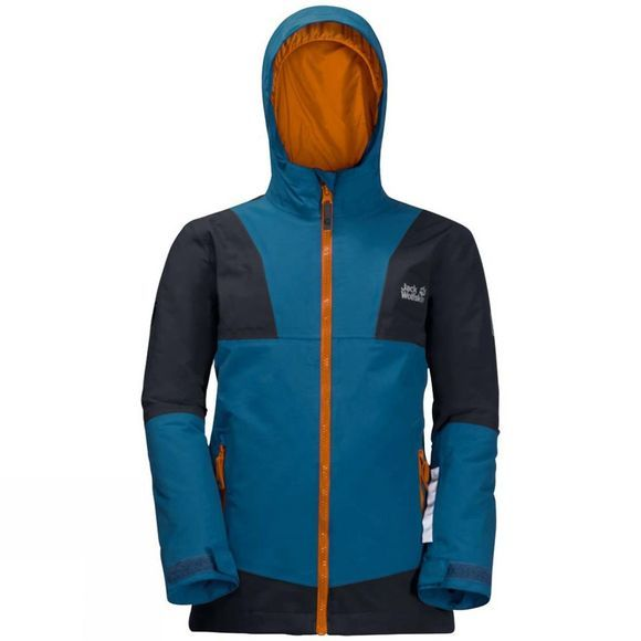 Jack Wolfskin Kids Snowsport Jacket Glacier Blue