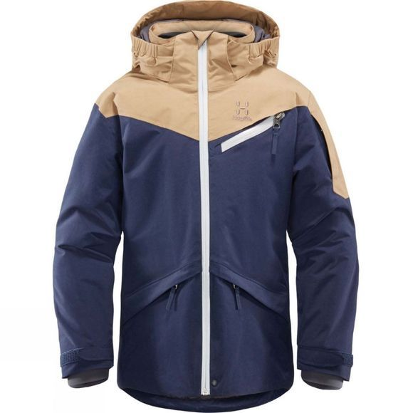 Haglofs Junior Niva Insulated Jacket Tarn Blue/Oak