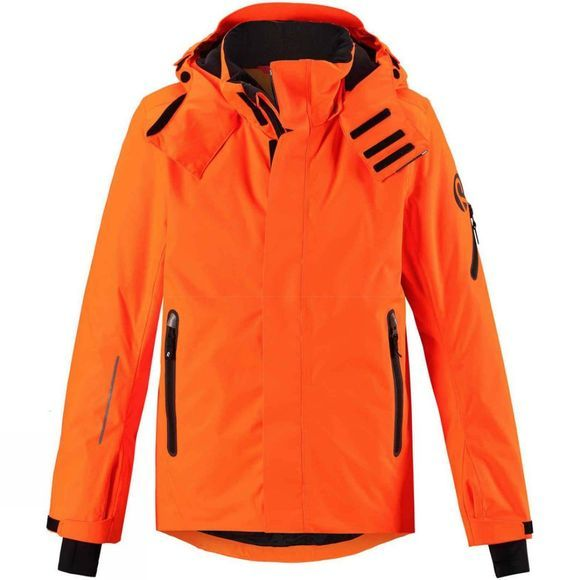 Reima Boys Wheeler Winter Jacket Orange glow