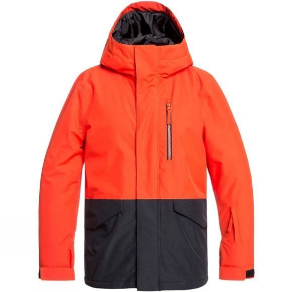 Quiksilver Boys Mission Youth Jacket Poinciana