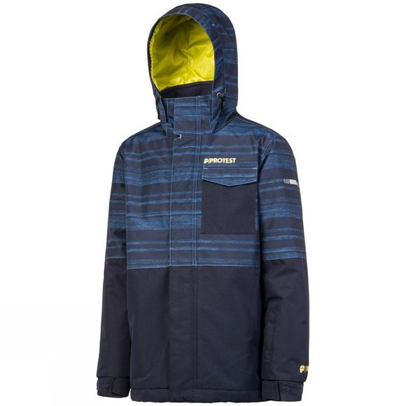 Protest Boys Justus Snow Jacket Ground Blue