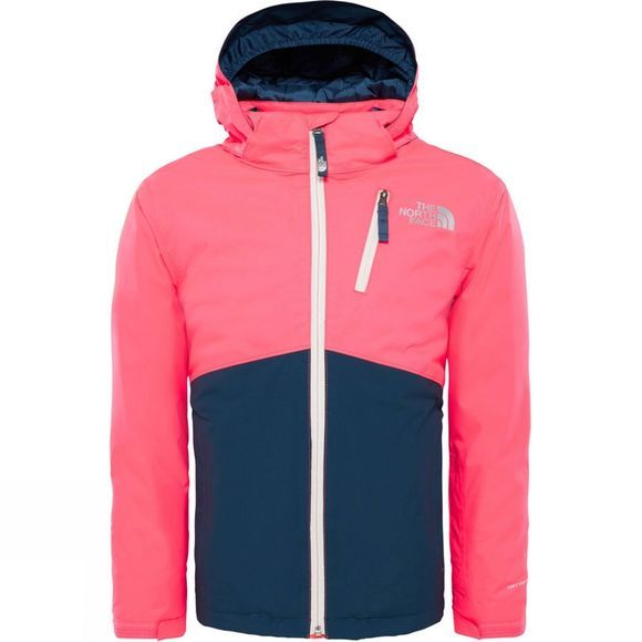The North Face Snowquest Plus Jacket Age 14+ Rocket Red