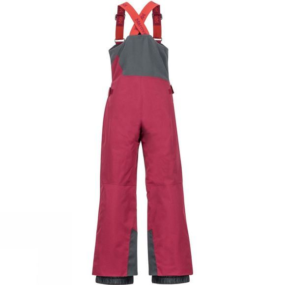 Marmot Boys Rosco Bib Madder Red