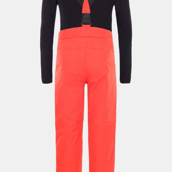 The North Face Youth Snowquest Suspender Plus Pants Fiery Red
