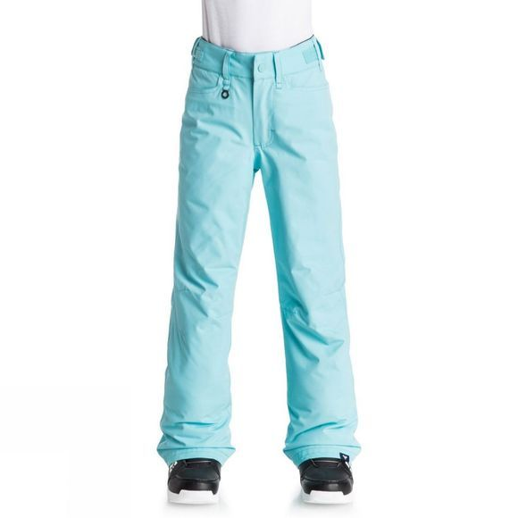Roxy Girls Backyard Pants Age 14+ Blue Radience