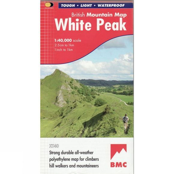 White Peak British Mountain Map 1:40K