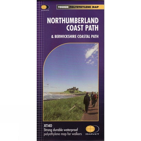 Northumberland Coast Path Map 1:40K