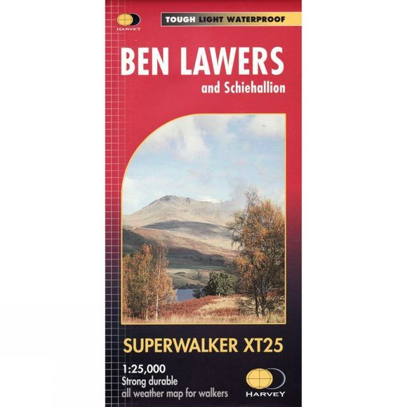 Ben Lawers & Schiehallion Map 1:25K