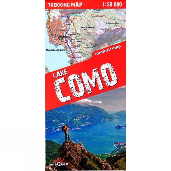 Lake Como: Trekking Map
