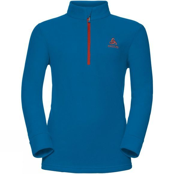 Odlo Kids Tour 1/2 Zip Midlayer Fleece Mykonos Blue