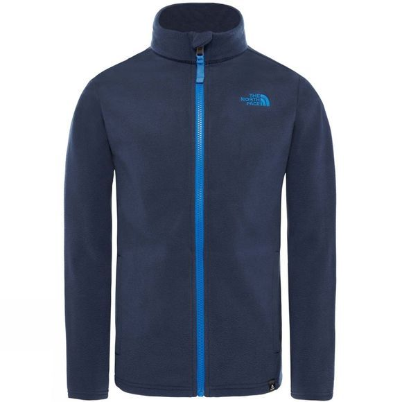 The North Face Youths Snow Quest Full Zip Cosmic Blue/Turkish Sea