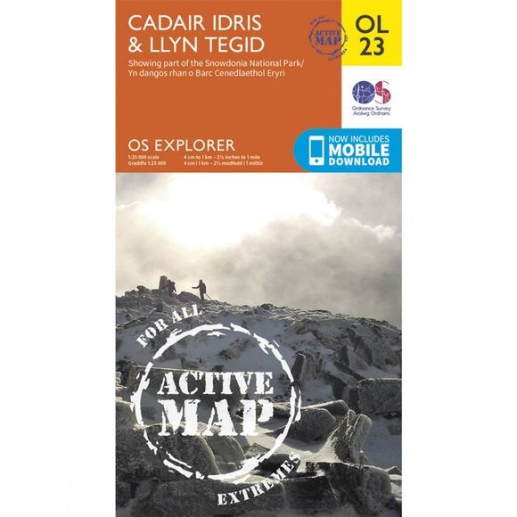Active Explorer Map OL23 Cadair Idris and Bala Lake