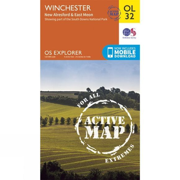 Active Explorer Map OL32 Winchester