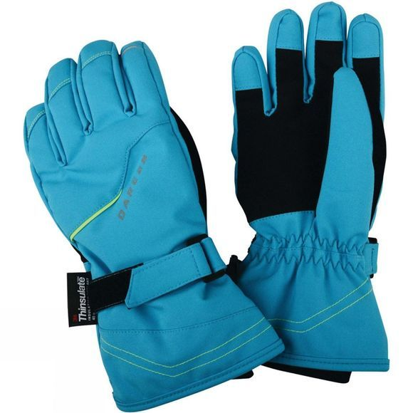 Dare 2 b Kids Handful Glove Fluro Blue