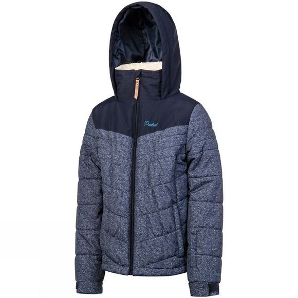 Protest Girls Janette Snow Jacket Ground Blue