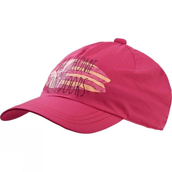 Jack Wolfskin Kids Supplex Shoreline Cap Tropic Pink