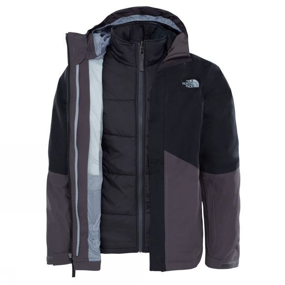 The North Face Boundary Triclimate Jacket Age 14+ TNF Black