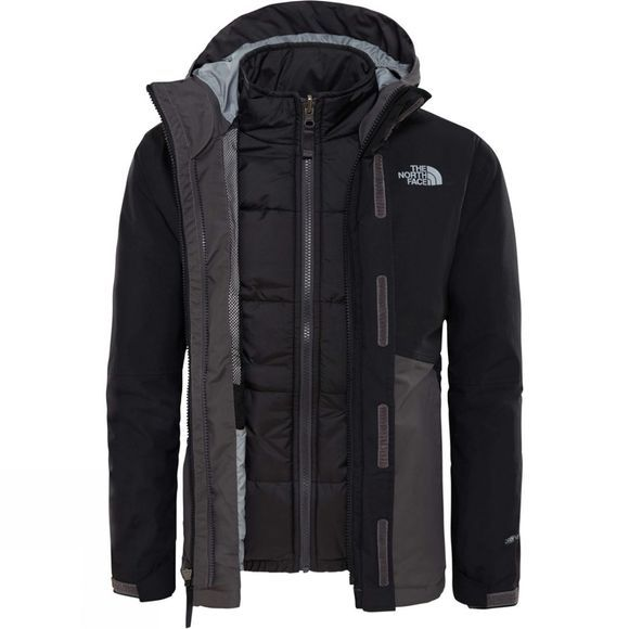 The North Face Boundary Triclimate Jacket Age 14+ Graphite Grey
