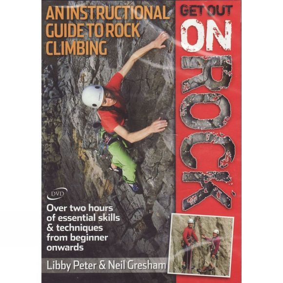 Crux Get Out on Rock: An Instructional Guide to Rock Climbing (DVD) No Colour