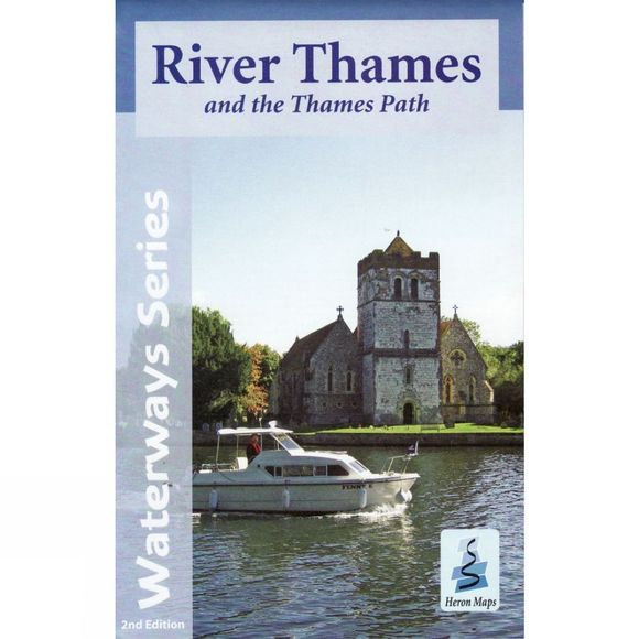 River Thames and the Thames Path Map