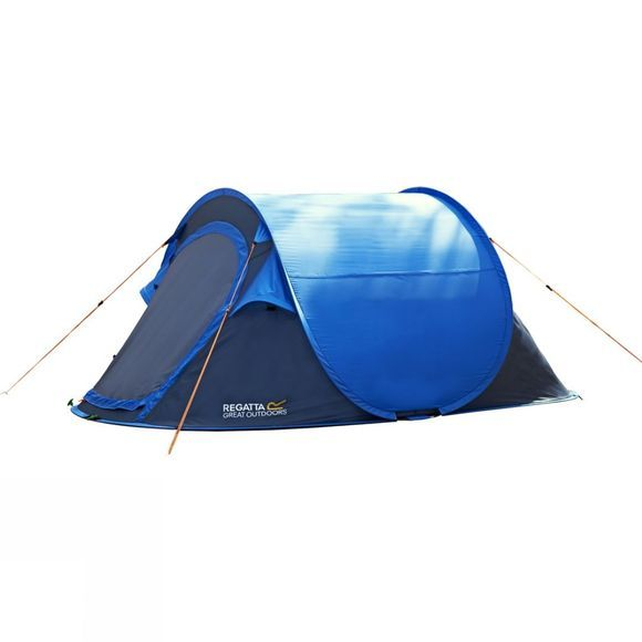 Regatta Malawi 2 Pop Up Tent Oxford Blue/Seal Grey