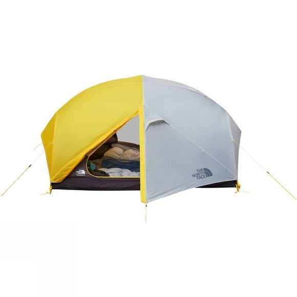 The North Face Triarch 3 Tent Canary Yellow/High Rise Grey