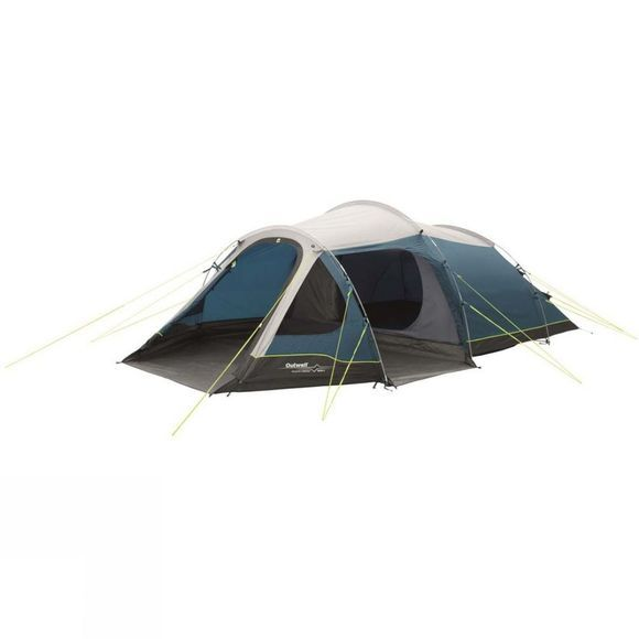 Outwell Earth 4 Tent  Grey/Blue
