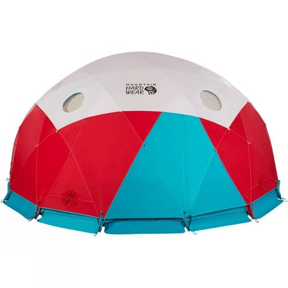 Mountain Hardwear Space Station Dome Tent Alpine Red