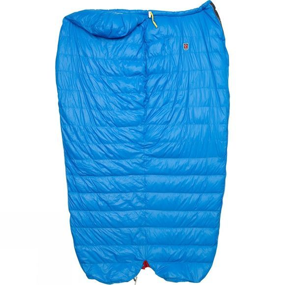 Fjallraven Move with Bag Long Sleeping Bag UN Blue