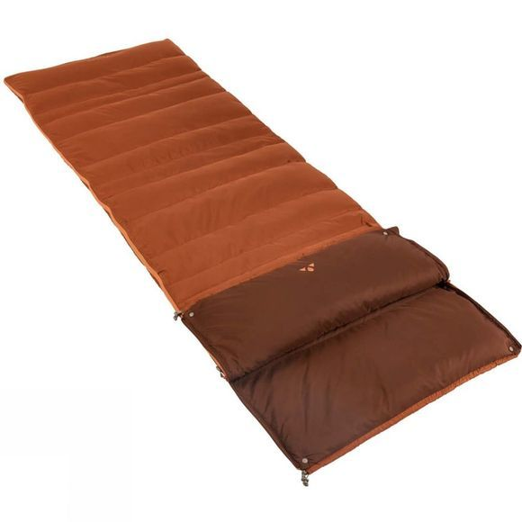 Vaude Kamor 400 DWN Sleeping Bag Chestnut