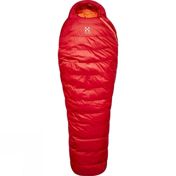 Haglofs Ursus -2 Short Sleeping Bag Rich Red