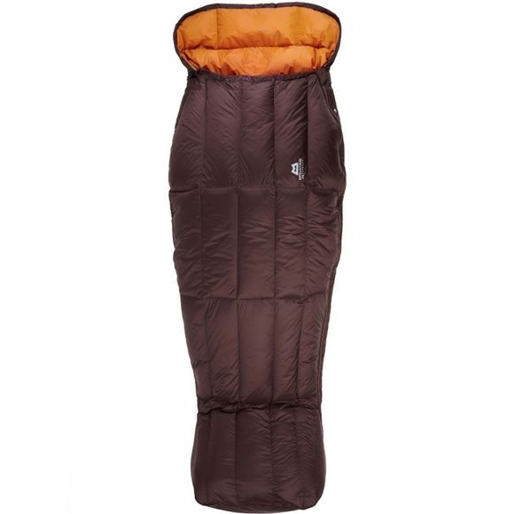 Mountain Equipment Womens Spellbinder Sleeping Bag Regular Dark Choc/Blaze