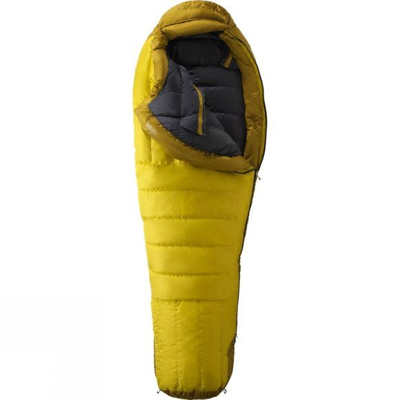 Marmot Col MemBrain Sleeping Bag Yellow Vapor / Green Wheat