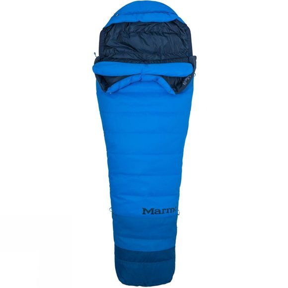 Marmot Mens Sawtooth TL Sleeping Bag Cobalt Blue/Classic Blue
