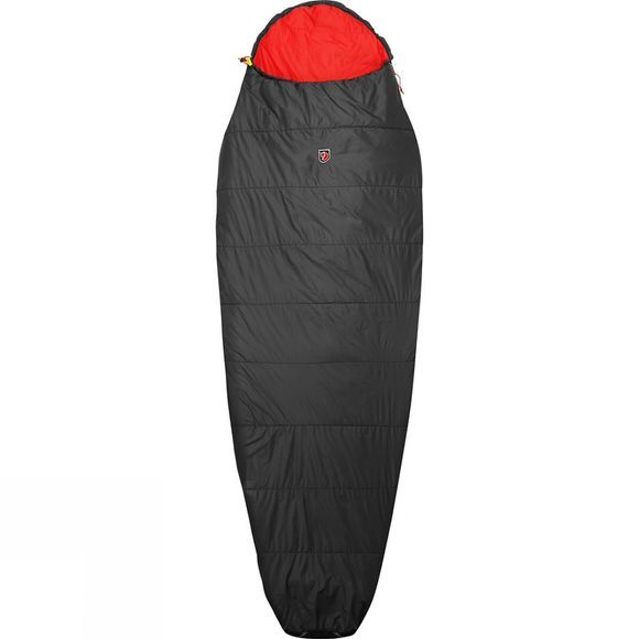 Fjallraven Funäs Lite Long Sleeping Bag Dark Grey