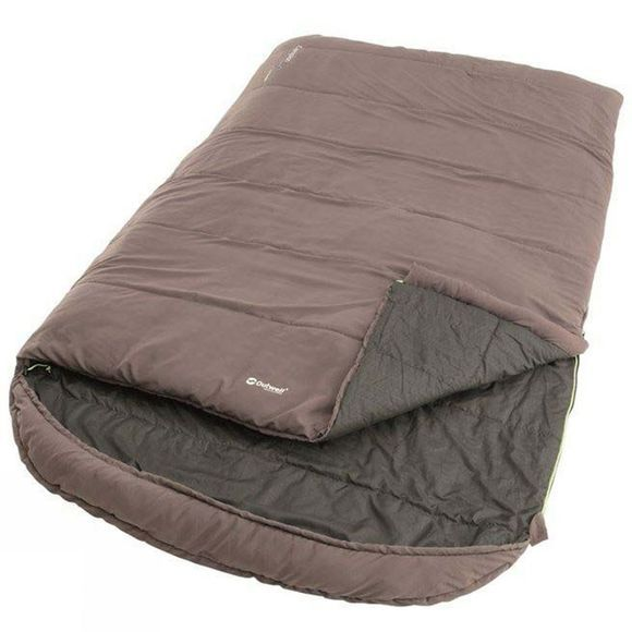 Outwell Campion Lux Double Sleeping Bag Grey