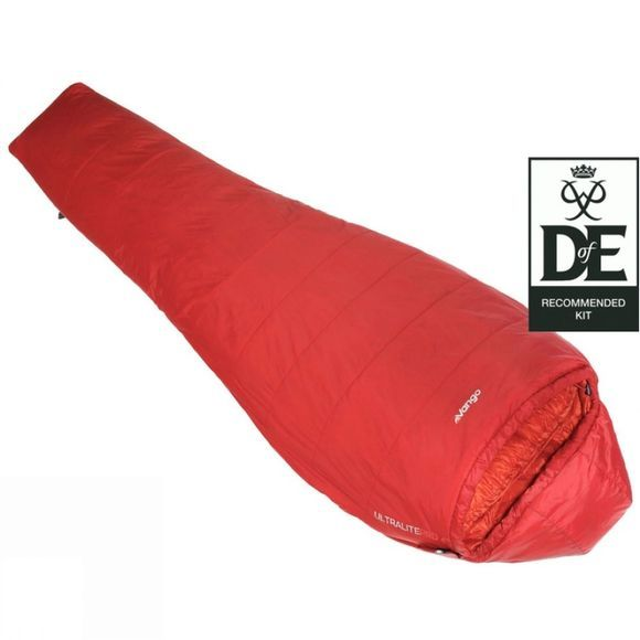 Vango Ultralite Pro 100 Sleeping Bag Paprika