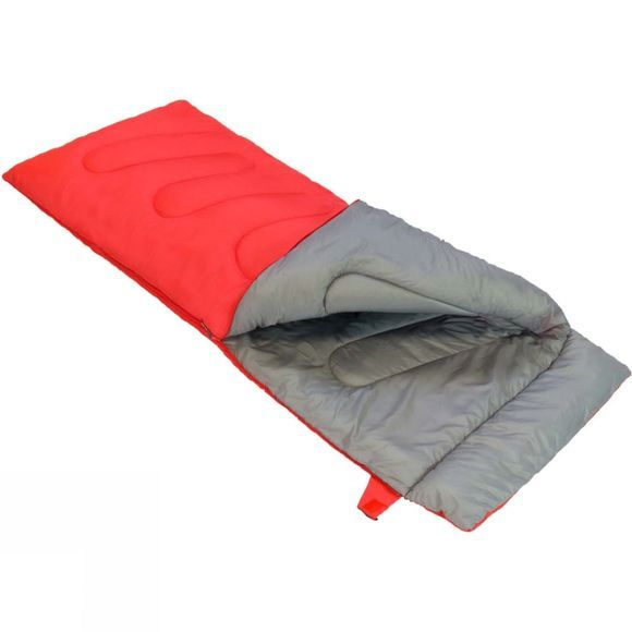 Vango Ember Lux Single Sleeping Bag Hot Coral